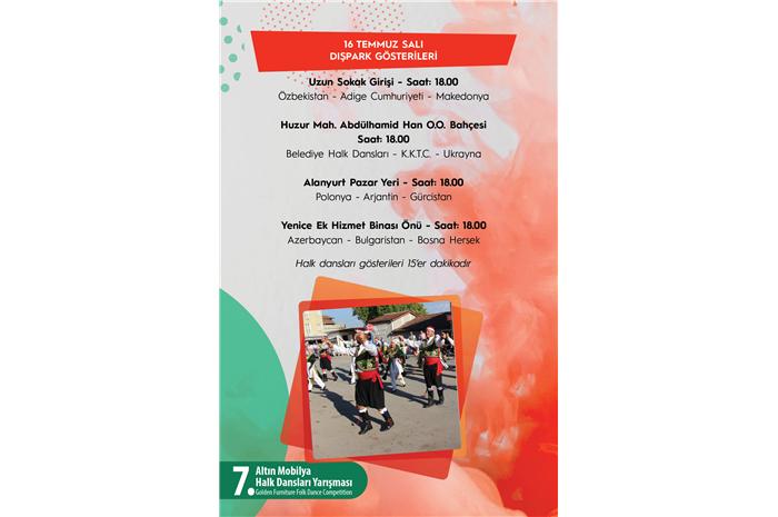 İnegöl Belediyesi 32. Uluslararası Kültür Sanat Festivali Dışpark Gösterileri