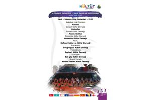 31. Uluslararası Kültür Sanat Festivali Yerli , Yabancı Halk Dansları Gösterileri
