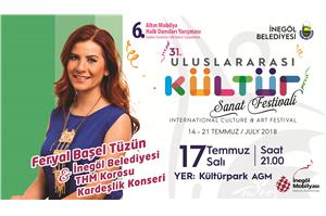 """Feryal Başel Tüzün ve İnegöl Belediyesi THM ve THM Gençlik Korosu """"KARDEŞLİK KONSERİ"""""""