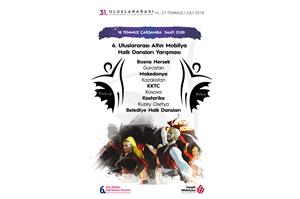 31. Uluslararası Kültür Sanat Festivali Halk Dansları Yarışması