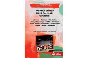 İnegöl Belediyesi 32. Uluslararası Kültür Sanat Festivali Halk Dansları Gösterisi