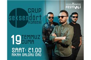 İnegöl Belediyesi 32. Uluslararası Kültür Sanat Festivali Seksendört Konseri